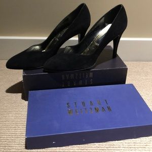 Stuart weitzman black pumps size 11